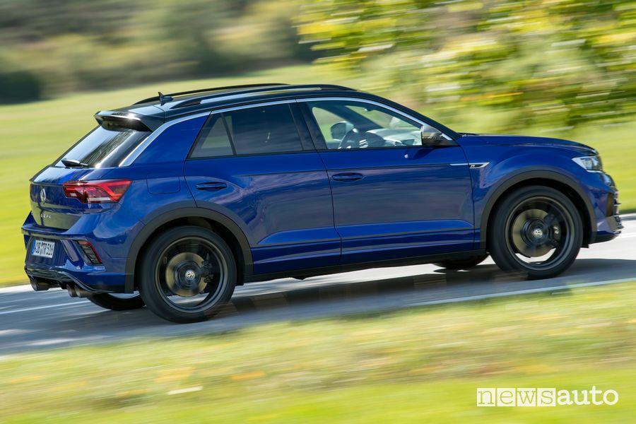 Cerchi in lega lato passeggero Volkswagen T-Roc R