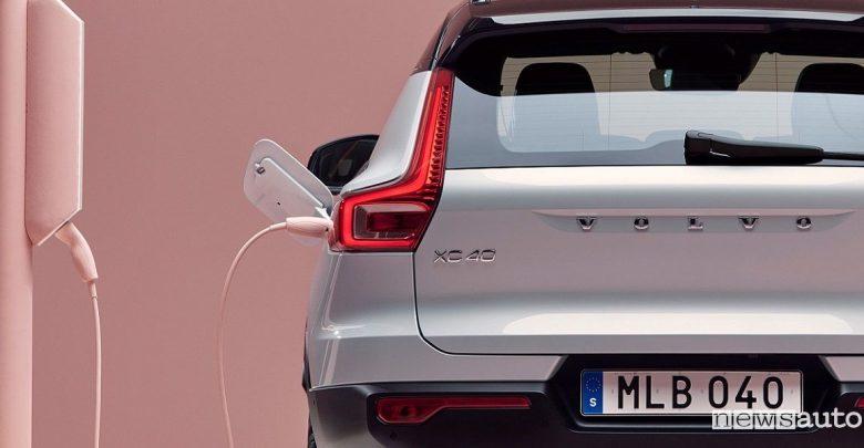 Volvo elettrica XC40
