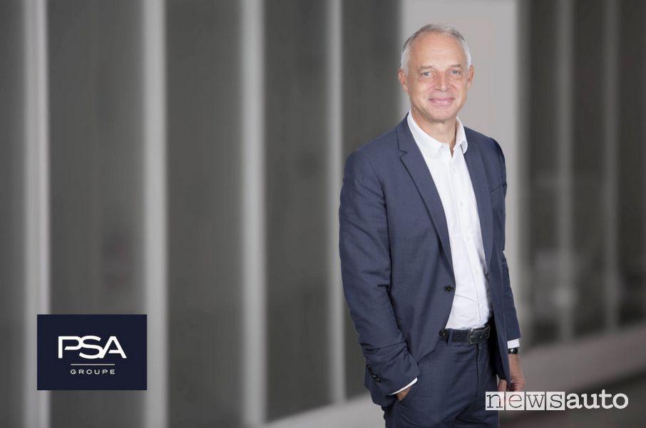 Xavier Peugeot, Direttore della Business Unit Veicoli Commerciali di Groupe PSA