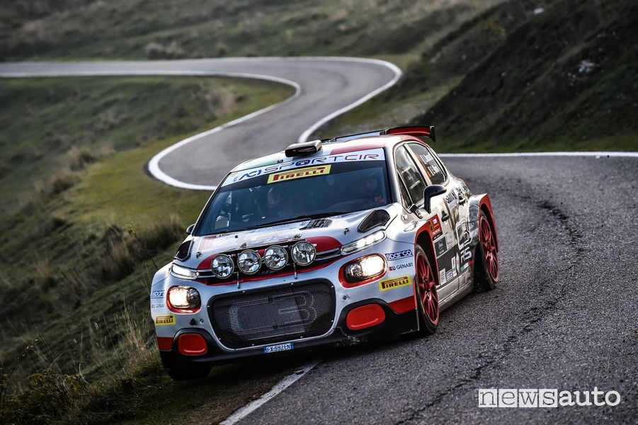 Citroën C3 R5 al Rally Due Valli Rossetti-Mori