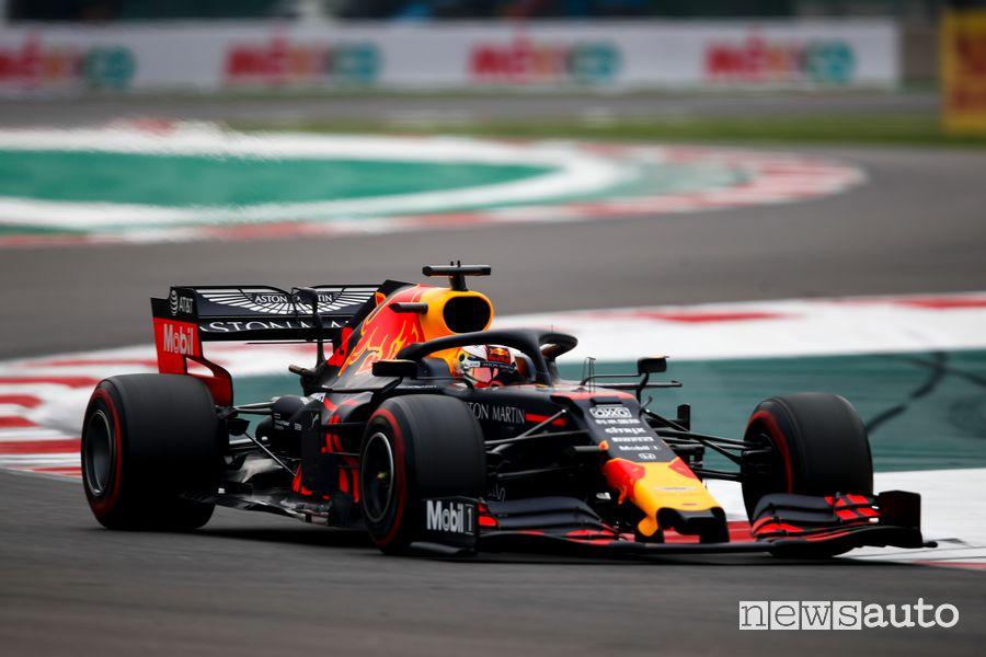 Qualifiche F1 Gp Messico 2019 Red Bull Max Verstappen