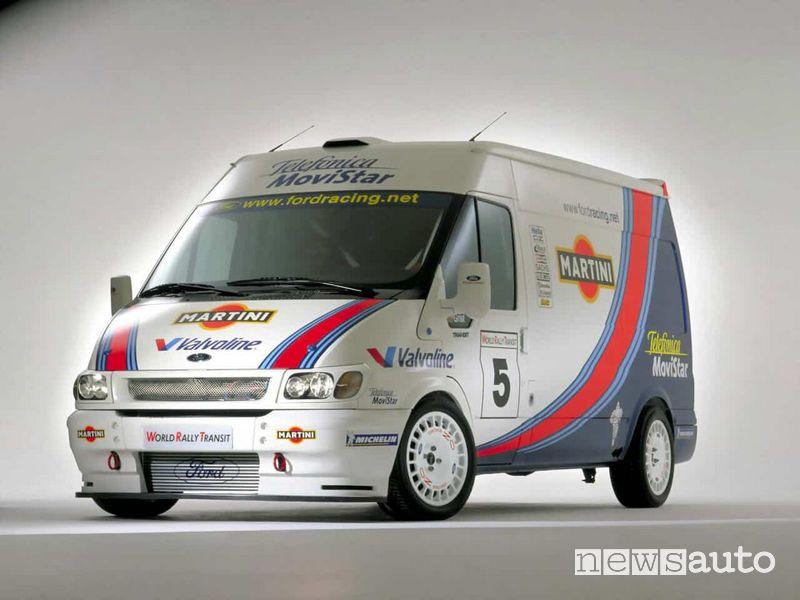 Ford Transit livrea Martini 2000