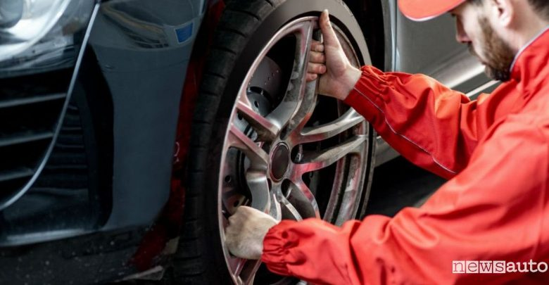 montaggio pneumatici on line