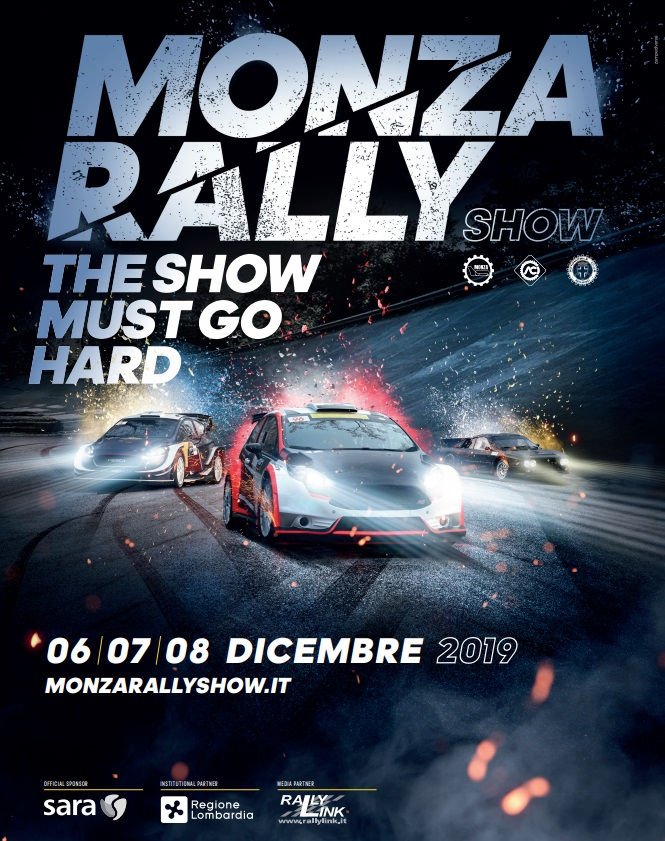 Poster ufficiale Monza Rally Show 2019