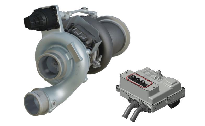 Turbo elettronico E-Turbo Garrett