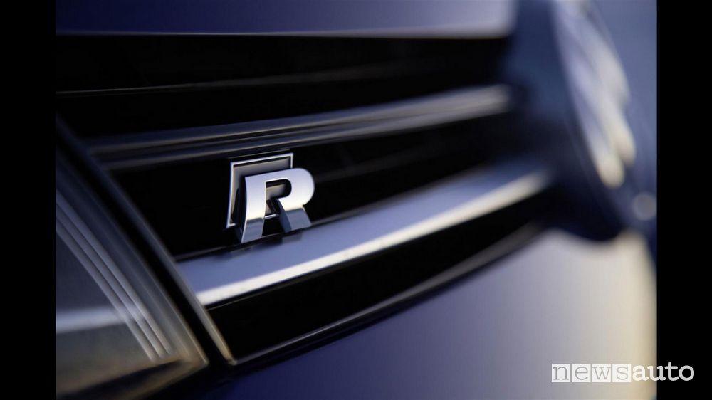 Vecchio logo Volkswagen R