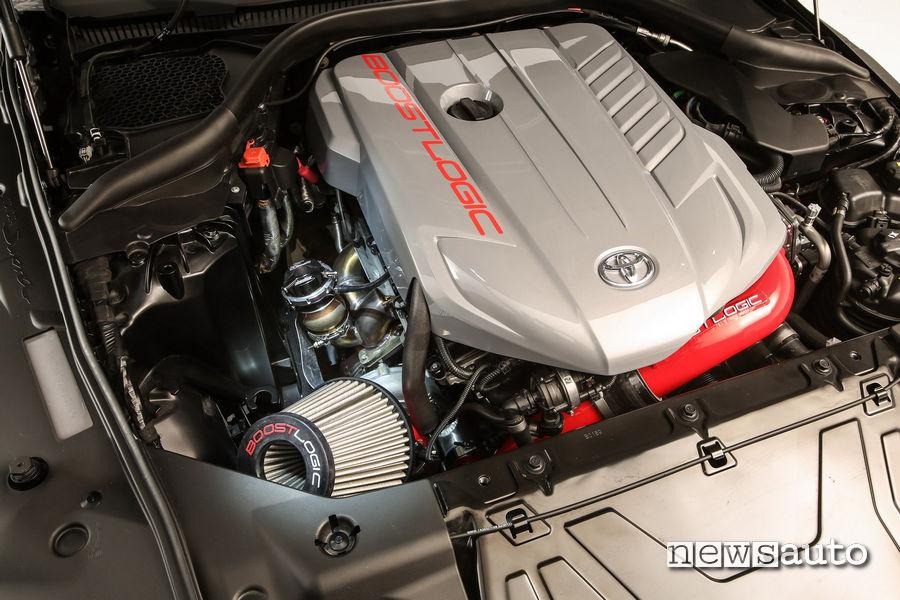 Preparazione Rutledge Wood per il motore da 750 cv della Toyota GR Supra Hyperboost Edition 750HP