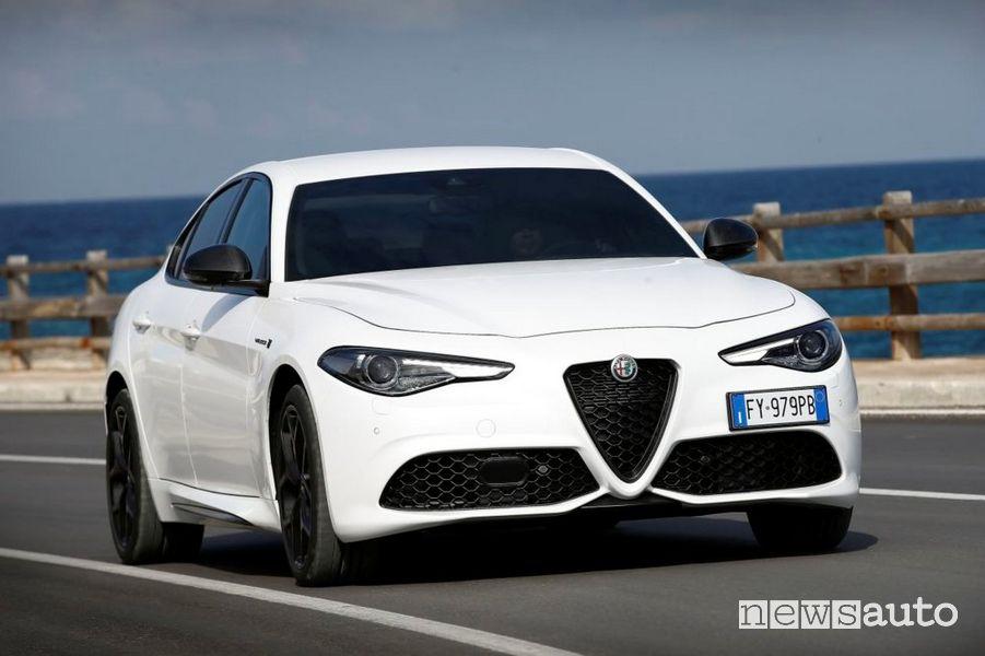 Paraurti anteriore Alfa Romeo Giulia 2020 Veloce Ti