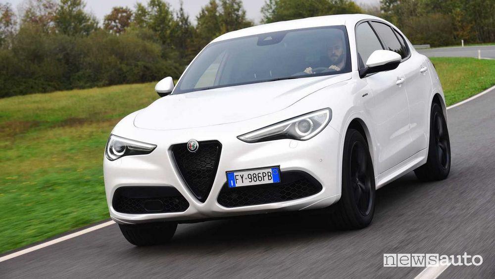 Paraurti anteriore Alfa Romeo Stelvio 2020