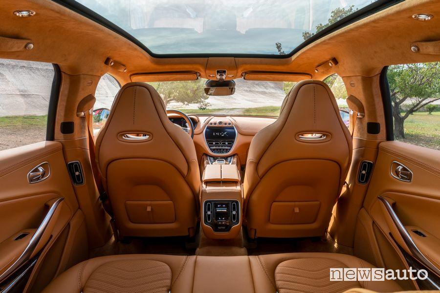 Abitacolo, sedili anteriori Aston Martin DBX