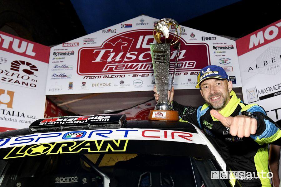 Giandomenico Basso con Skoda Fabia R5 è Campione Italiano Rally 2019