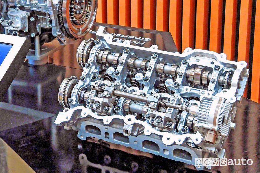 motore Hyundai SmartStream con l'attuatore del CVVD
