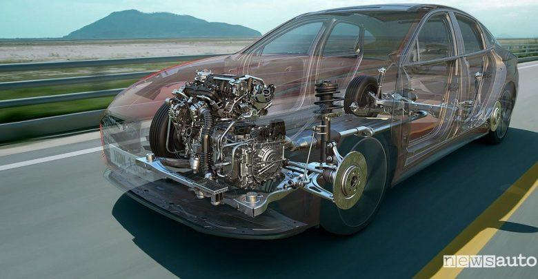 Motore benzina Hyundai tecnologia CVVD