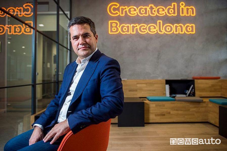 Lucas Casasnovas, Responsabile della mobilità urbana Seat