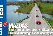 Photo of Mazda 3 prova comparativa, test diesel benzina ibrido X