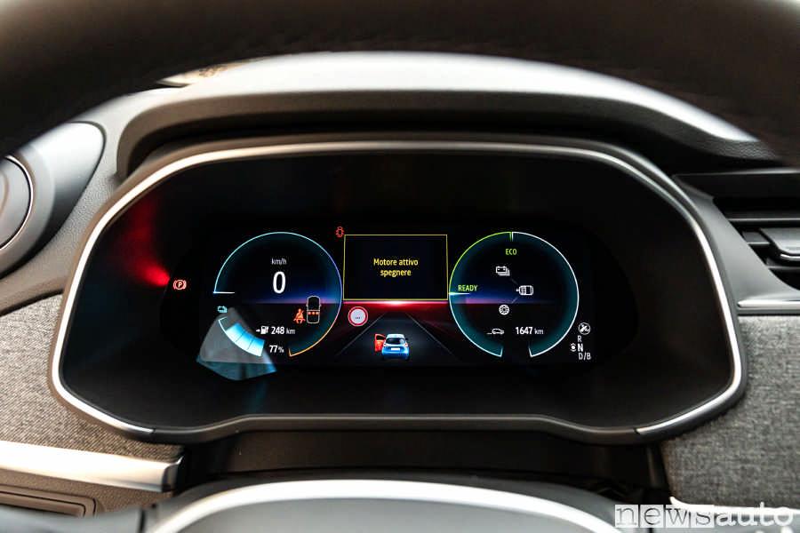 Nuovo display per il guidatore, cockpit digitale più ampio sulla nuova Renault Zoe 2020