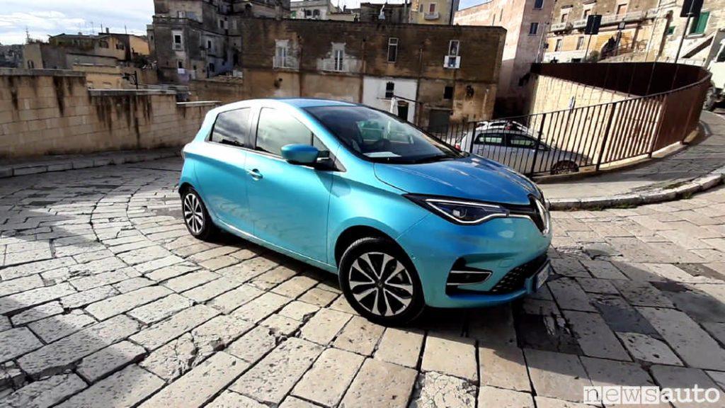 Renault Zoe vendite auto elettriche