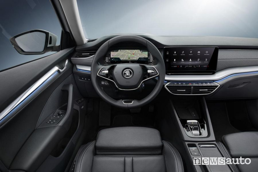 Virtual Cockpit, quadro di strumenti digitale Škoda Octavia 2020