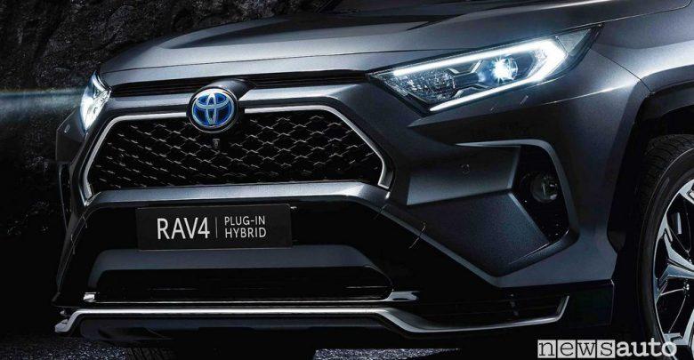 Mascherina, paraurti anteriore Toyota Rav4 Plug-in Hybrid