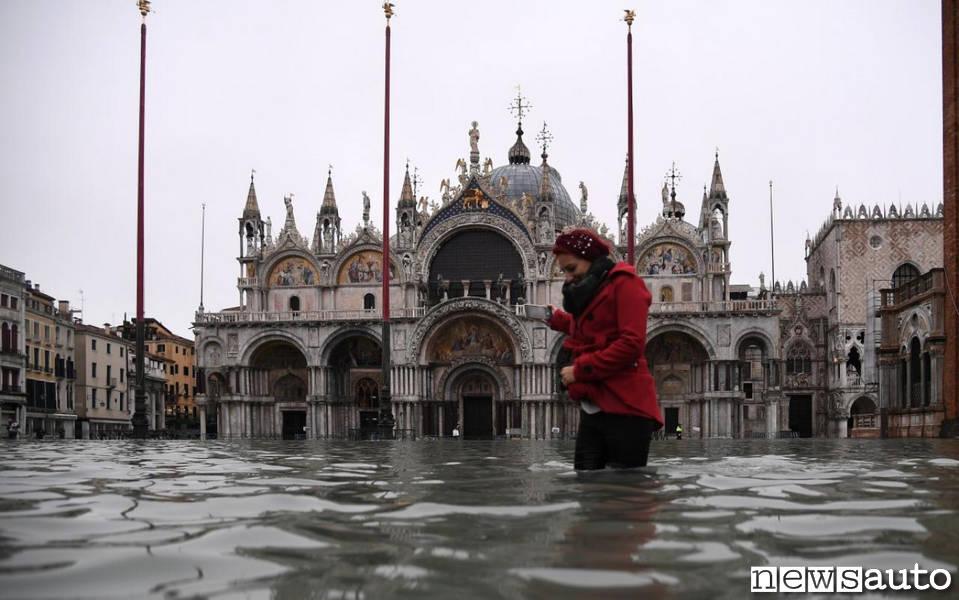 venezia maltempo acqua alta