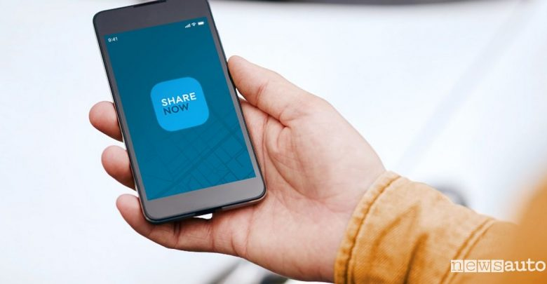 App Car-Sharing Share Now