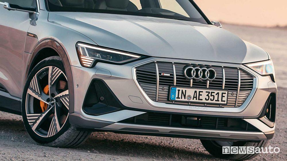 Frontale, mascherina anteriore Audi e-tron Sportback