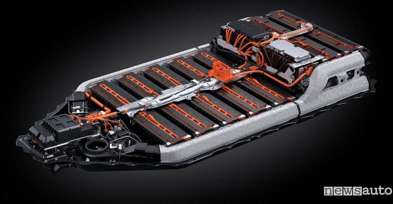 Batteria al litio auto elettrica