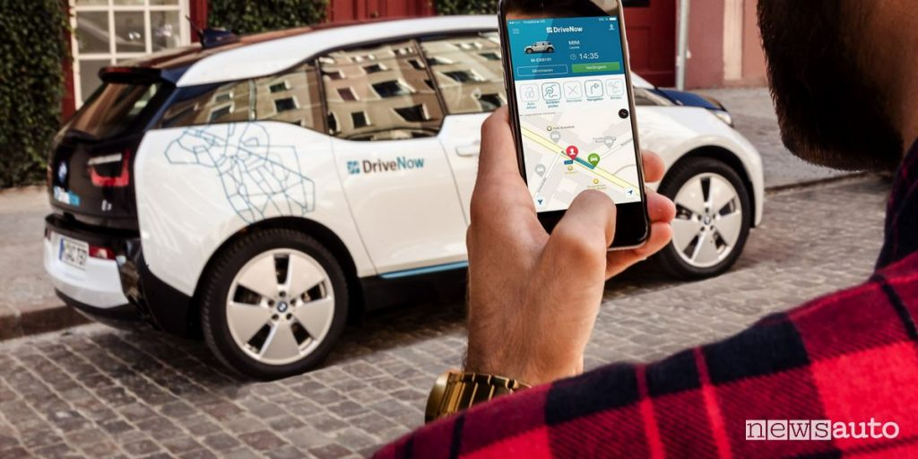 App car sharing DriveNow