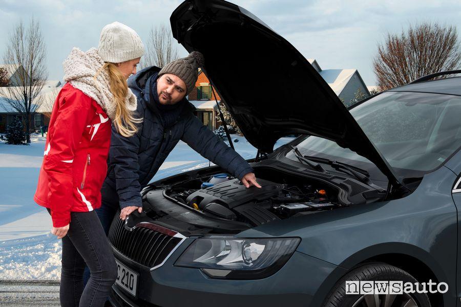 controllo batteria auto scarica