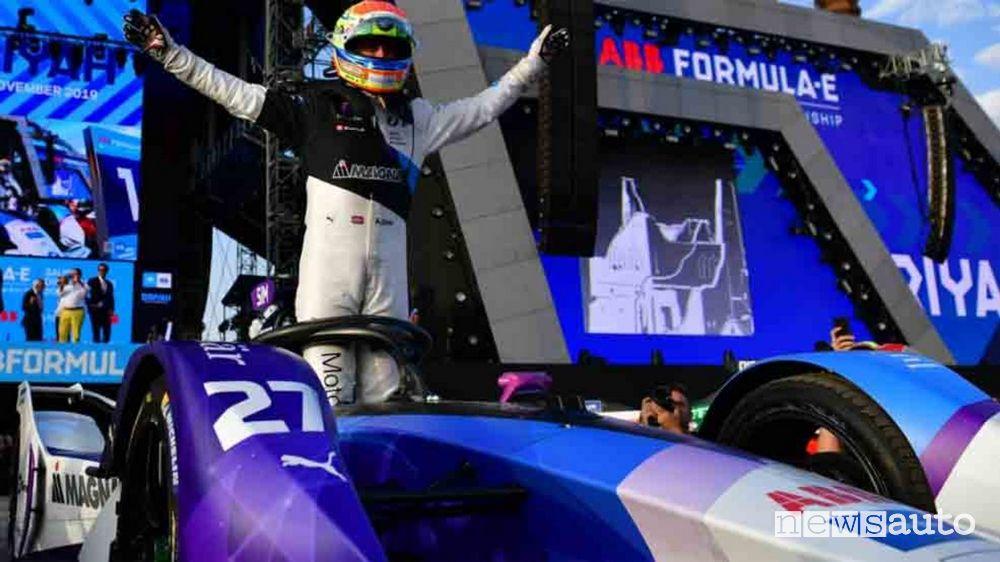BMW Sims vittoria Gara 2 ePrix di Riad in Arabia Saudita Formula E 2020