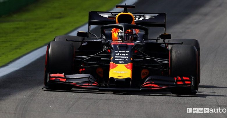 F1 Gp Brasile 2019, vittoria Red Bull Honda