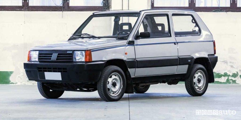 Fiat Panda 4x4 di Gianni Agnelli