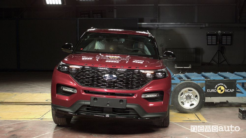 Ford Explorer Crash Test 2019 urto laterale