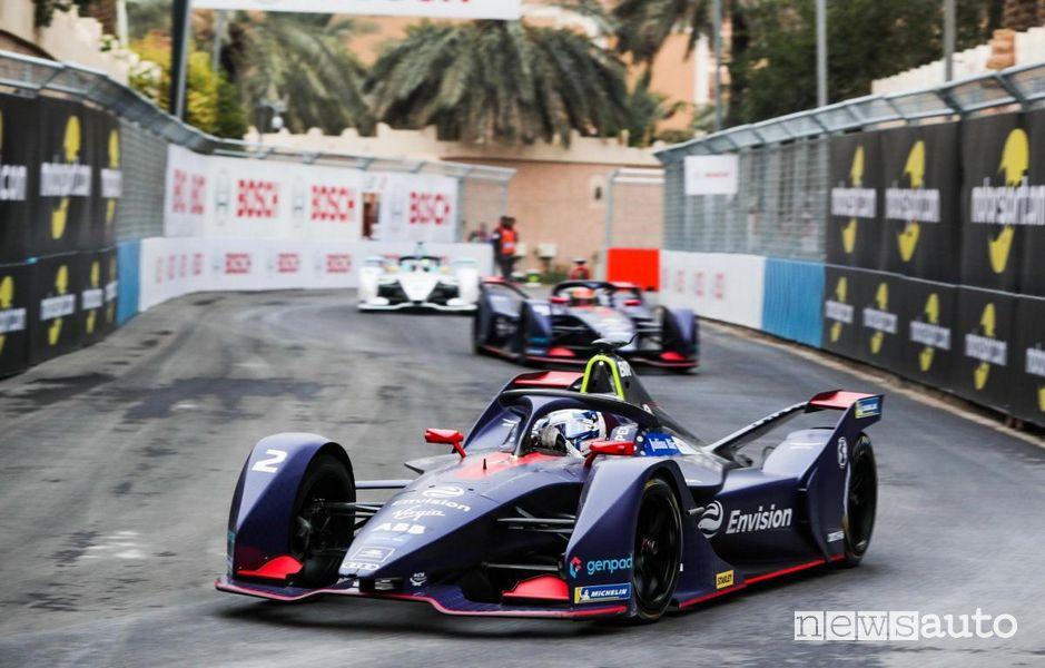 Sam Bird eprix riad formula e 2020 Arabia saudita