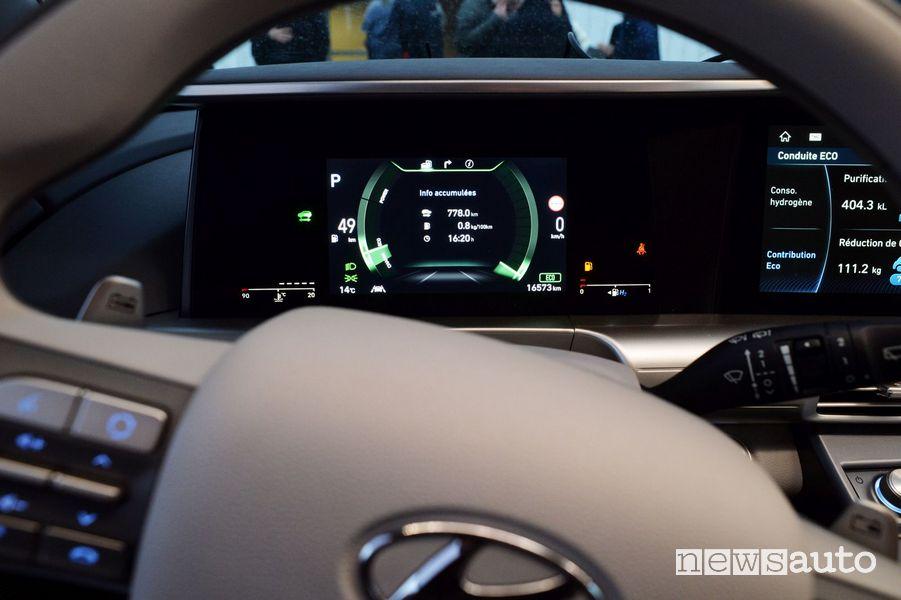 Quadro strumenti Hyundai Nexo