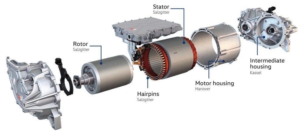 motore elettrico APP 310 della Volkswagen ID. 3