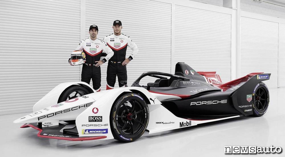 Piloti Porsche formula e