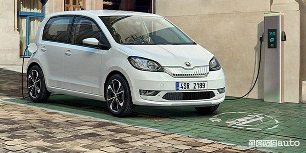 Škoda Citigo iV elettrica prezzi