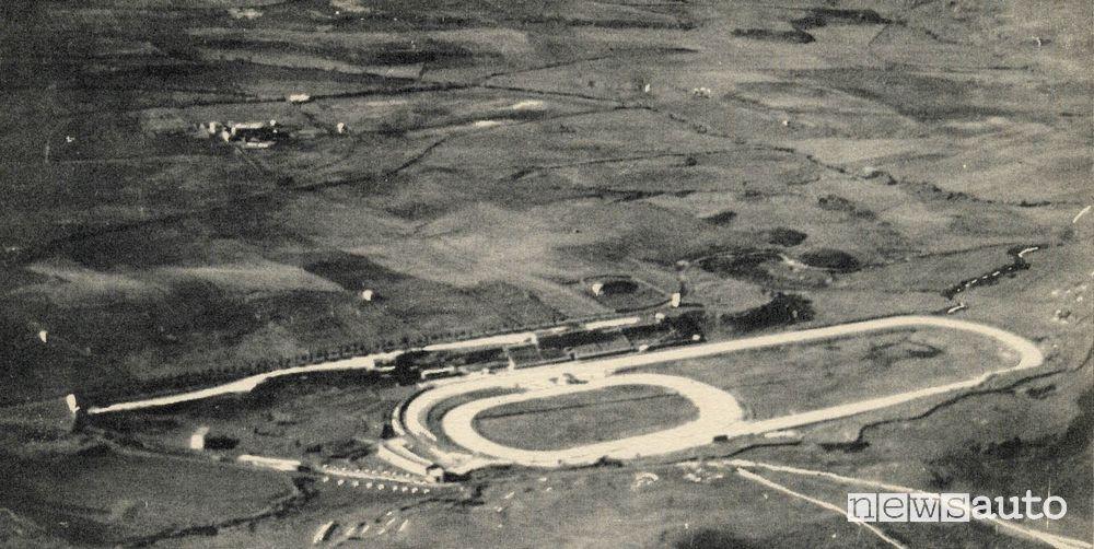 Autodromo di Vallelunga Foto storica anni '50