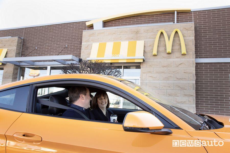 Ford caffè riciclato McDonald's