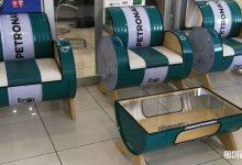 Photo of Fusti olio riciclati, Petronas li trasforma in oggetti d'arredo!