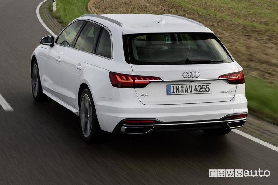 Portellone posteriore Audi A4 Avant g-tron
