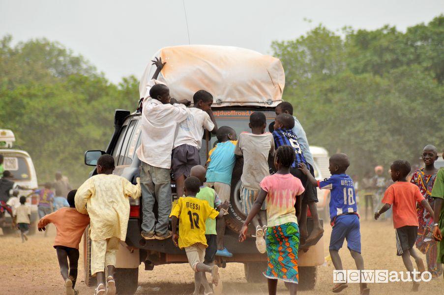 Bambini in festa alla Budapest-Bamako