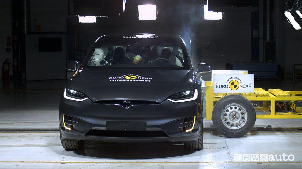 Crash Test Euro NCAP 2019 Tesla Model X