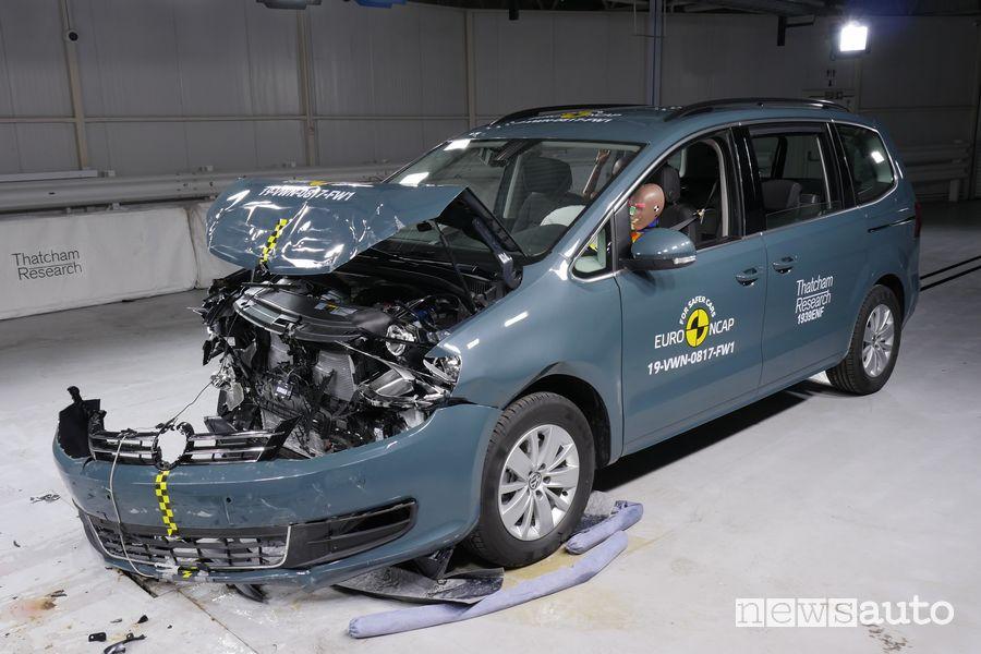 Crash Test Euro NCAP 2019 Volkswagen Sharan