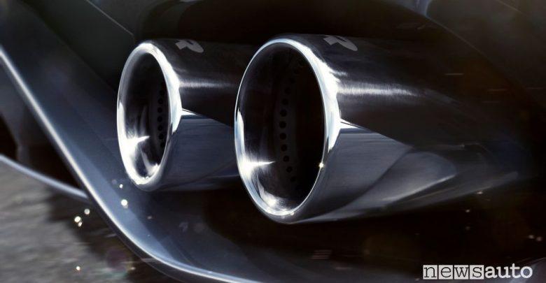 Scarico Jaguar F-Type R 2020