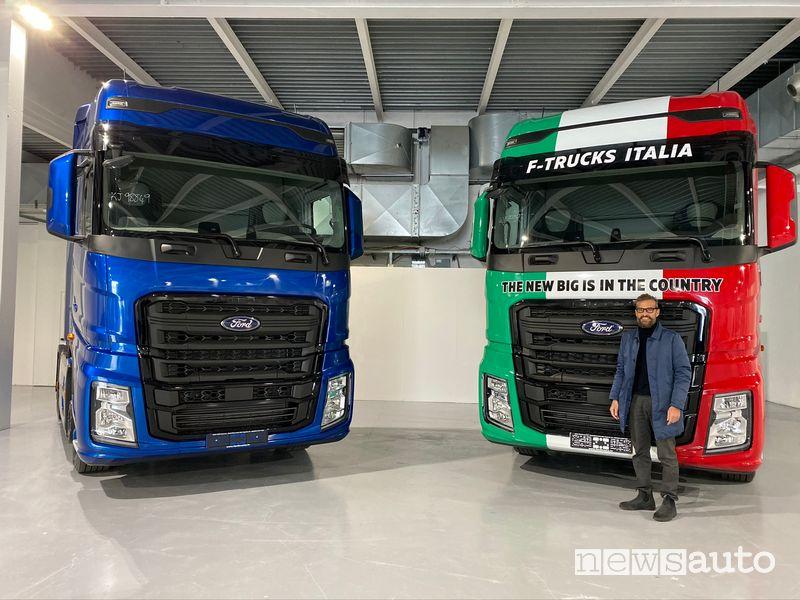 Massimiliano Calcinai Amministratore Delegato Ford F-Trucks Italia