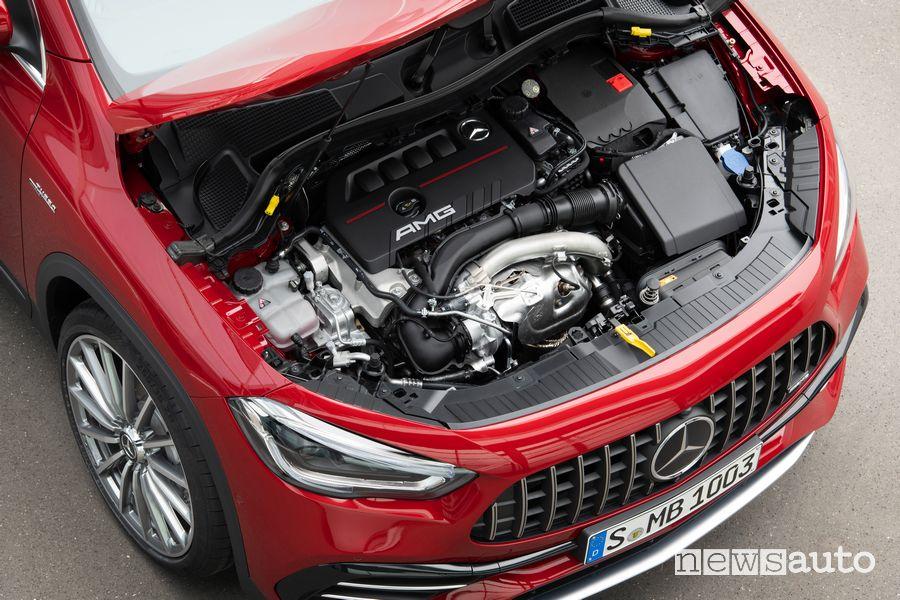 Vano motore Mercedes-AMG GLA 35 4MATIC