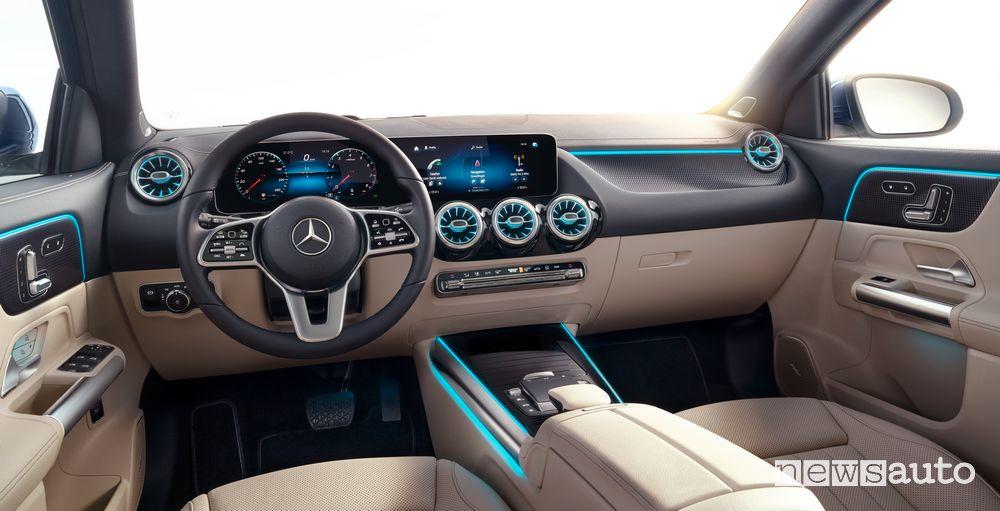 Interni, plancia strumenti Mercedes-Benz GLA 2020