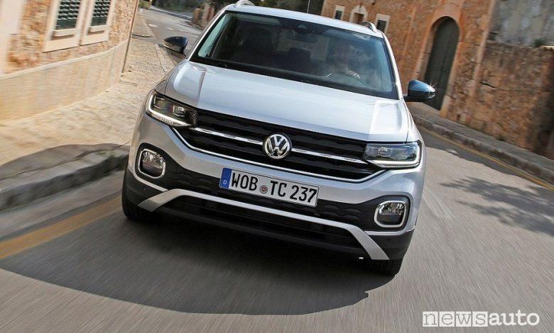 Volkswagen T-Cross prezzi
